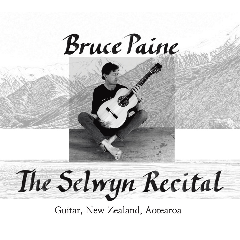 The Selwyn Recital CD cover artwork
