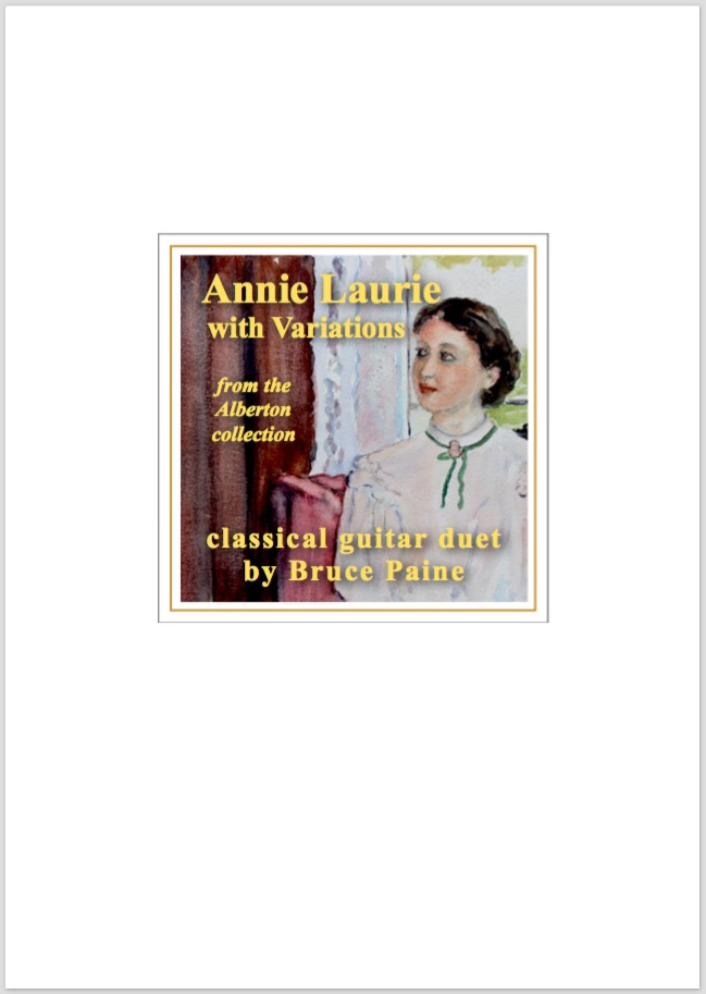 Picture of Annie Laurie Variations cover page