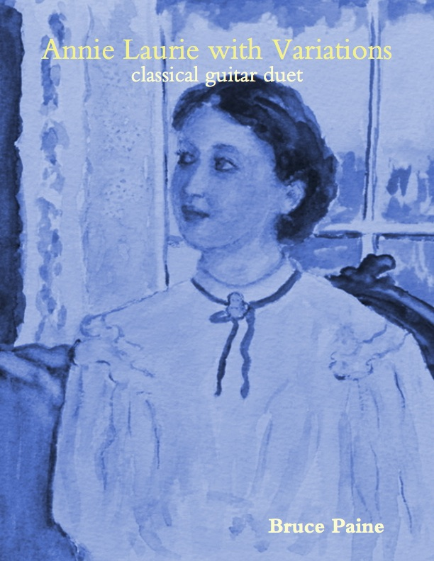 Picture of Annie Laurie With Variations cover page
