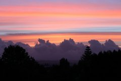 Sunset Over Waitakere Ranges
