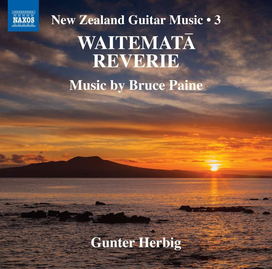 Waitemata Reverie NAXOS CD cover artwork