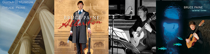 Bruce Paine Guitarist CDs and DVDs