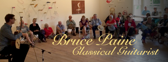 Bruce Paine Classical Guitarist